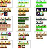 MEGA BUNDLE: Sequencing 5 Pictures, speech therapy, autism, 200 SETS, 1000 PICS
