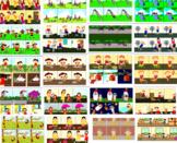 MEGA BUNDLE: Sequencing 6 Pictures, speech therapy, autism, 200 SETS, 1200 PICS
