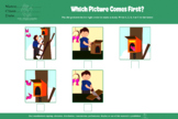 BUNDLE: WHICH COMES FIRST, 5 pictures sequencing, sequence, autism, 200 PAGES