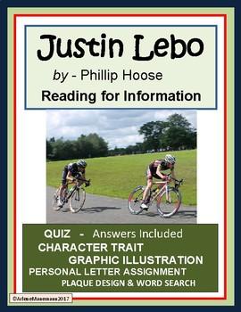 JUSTIN LEBO Non-fiction Story Study