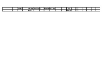 JV Volleyball tryout scores spreadsheet