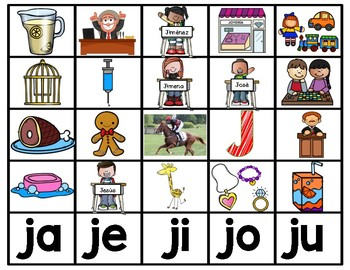 Ja Je Ji Jo Ju Teaching Resources Teachers Pay Teachers