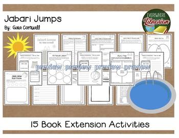 Jabari Jumps by Gaia Cornwall 15 Literature Extension Activities NO PREP