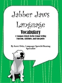 Jabber Jaws Language - Categories, Functions, and Attriubtes