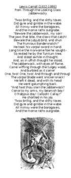 Jabberwocky Poem