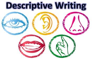 Descriptive Writing 3 Week Unit - 9 Lessons, PPT, Resource