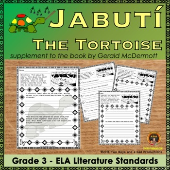 Jabuti the Tortoise Literature Standards Support Pages