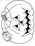 JacK-O-Lantern Halloween Mask