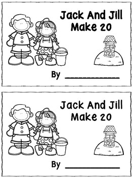 Jack And Jill Make 20 Booklet