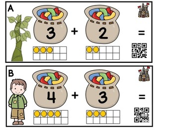 Jack And The Beanstalk Addition (QR Code Ready)