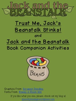 Jack And The Beanstalk Book Companion Pack By Speechy