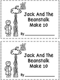 Jack And The Beanstalk Make 10 - A Ten Frame Booklet