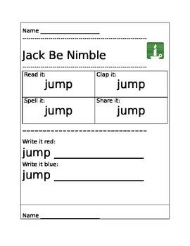 Jack Be Nimble