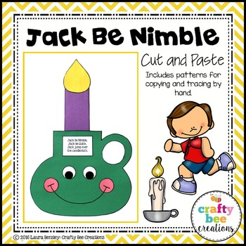 Jack Be Nimble Cut and Paste