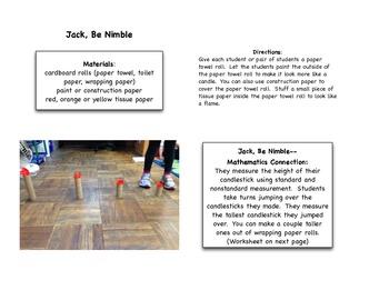 Jack, Be Nimble Measurement Activity