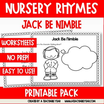 Jack Be Nimble - Nursery Rhyme