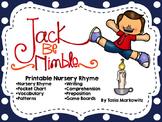Back-to-School Jack Be Nimble Printable