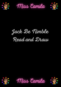 Jack Be Nimble Read and Draw