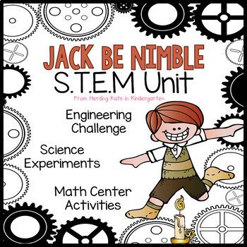 Jack Be Nimble STEM Nursery Rhyme Activities