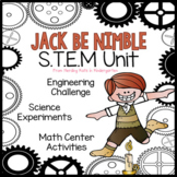 Jack Be Nimble STEM Nursery Rhyme Unit