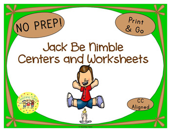 Jack Be Nimble Activities