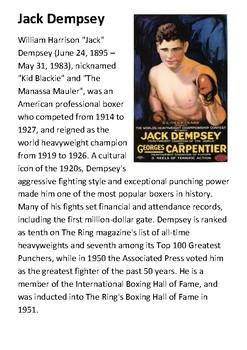Jack Dempsey Handout