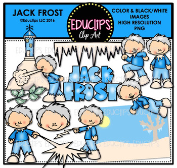 Jack Frost Clip Art Bundle {Educlips Clipart}