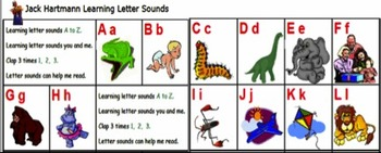 Jack Hartman Letter Sounds Songs for the Smartboard