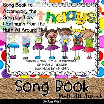 Jack Hartmann Birthdays Fun Music Book