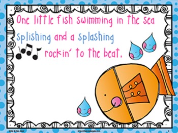 Jack Hartmann Five Little Fish Music Book