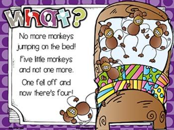 Jack Hartmann Five Little Monkeys Fun Music Book