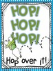 Jack Hartmann Hop Over It Fun Music Book