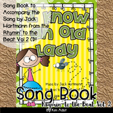 Jack Hartmann I Know An Old Lady Fun Music Book