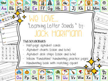 Jack Hartmann Learning Letter Sounds Alphabet Pack