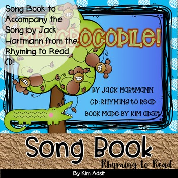 Jack Hartmann Mr Crocodile Fun Music Book