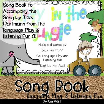 Jack Hartmann Party in the Jungle Fun Music Book