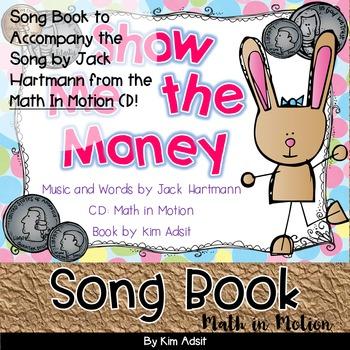 Jack Hartmann Show Me the Money Fun Music Book