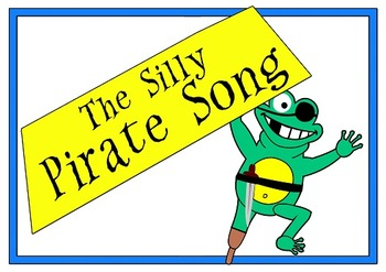 "Jack Hartmann's Unofficial ""Silly Pirate Song"" Flashcards"