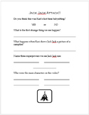 Jack Jack Attack! Disney Short Companion Worksheet