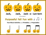 Jack, Jack, Jack-o-Lantern  -  Four Fun Fall Music Games/Activities
