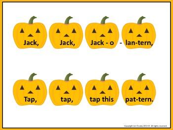 Jack, Jack, Jack-o-Lantern  -  Four Fun Fall Music Games/Activities