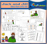 Jack & Jill Nursery Rhyme Activity Book