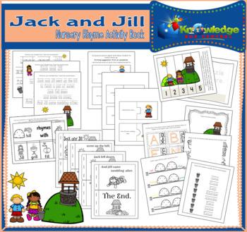 Jack & Jill Nursery Rhyme Activity Book