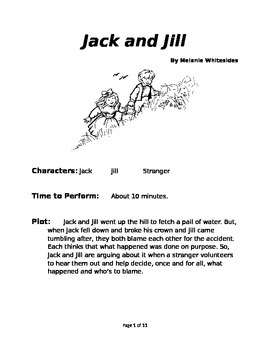 Jack & Jill - Small Group Reader's Theater
