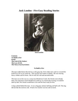 Jack London - Five Easy Reading Stories