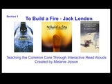 """Jack London """"To Build a Fire"""" Interactive Read Aloud"""