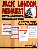 Jack London: WebQuest Research (8 Pages, Answer Key Inc., $5)