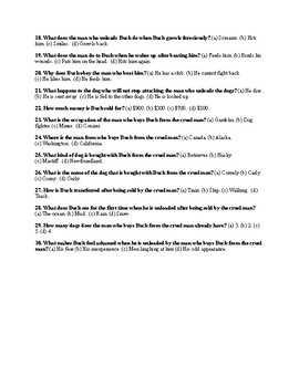 """Jack London's """"The Call of the Wild"""" Ch. 1 Quiz (w/ Answer Key)"""