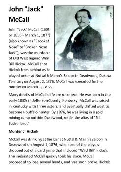 Jack McCall Handout