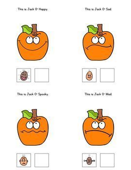 Jack O Happy: Adapted Book for Students with Autism & Special Needs